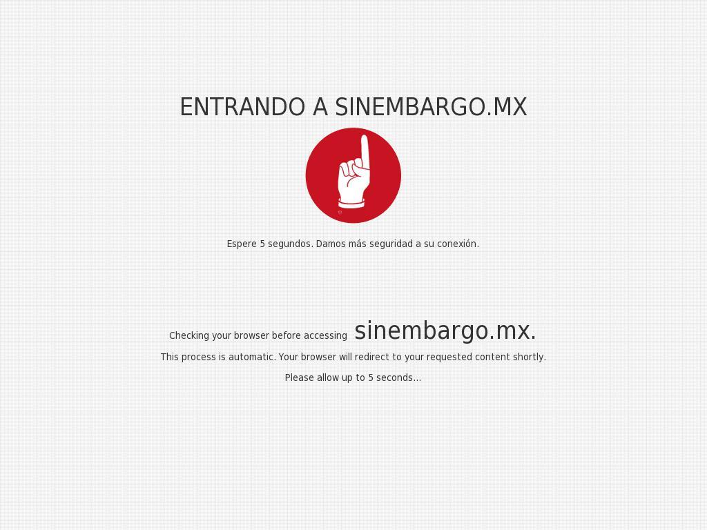 Sin Embargo at Saturday Jan. 6, 2018, 11:21 a.m. UTC